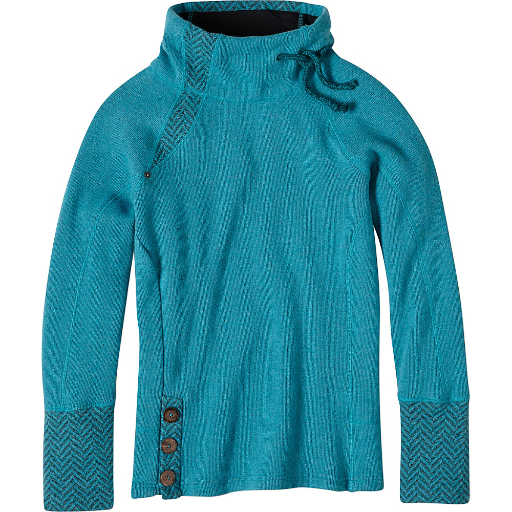 PrAna Lucia Sweater XL - Harbor Blue - PrAna Womens Apparel - Apparel & Footwear, Women's Apparel