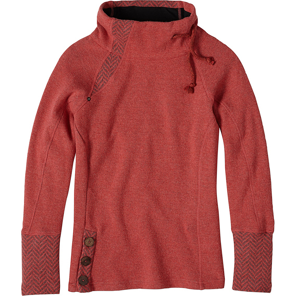 PrAna Lucia Sweater XL - Sunwashed Red - PrAna Womens Apparel - Apparel & Footwear, Women's Apparel