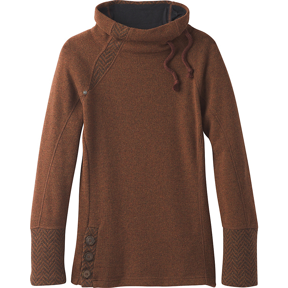 PrAna Lucia Sweater M - Auburn - PrAna Womens Apparel - Apparel & Footwear, Women's Apparel
