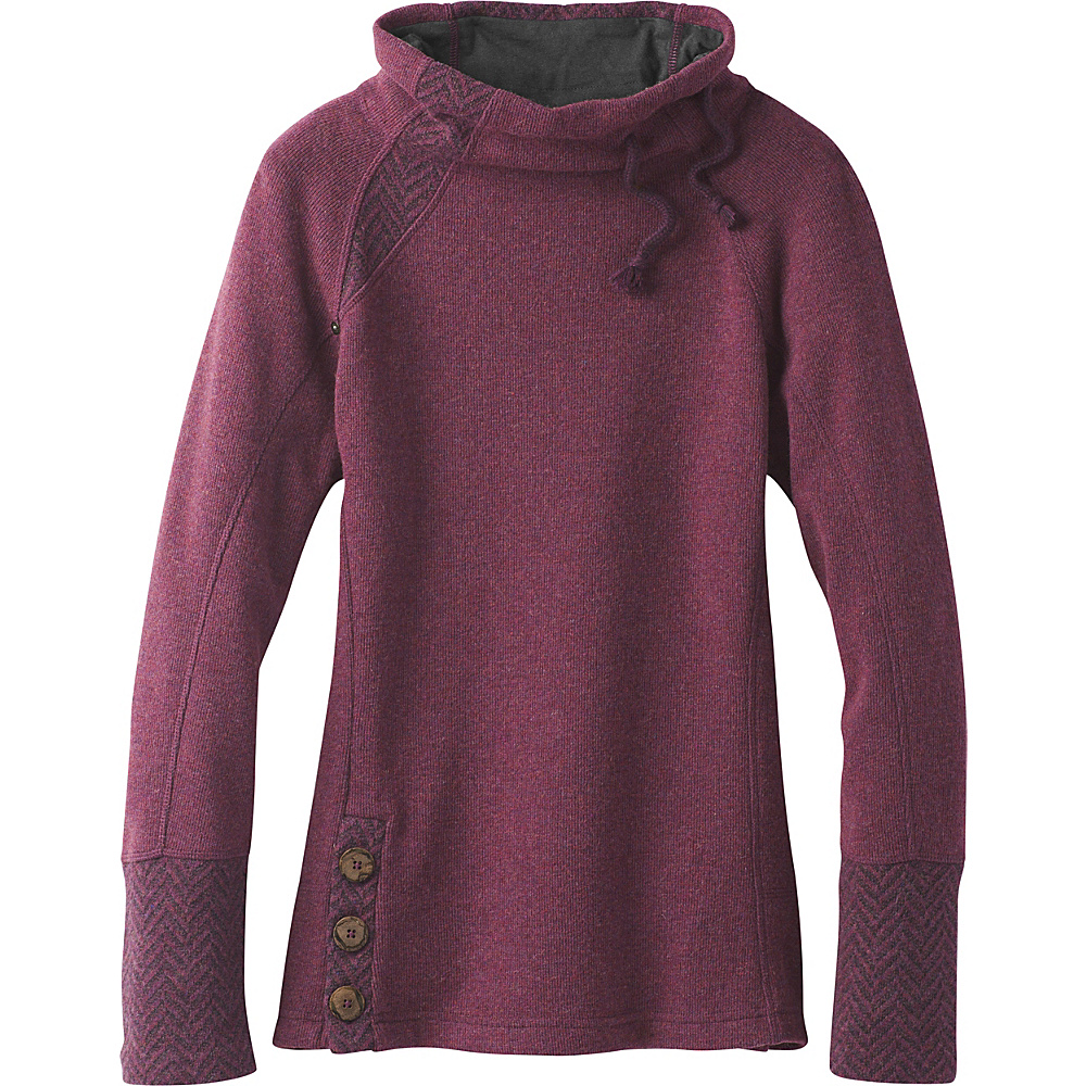 PrAna Lucia Sweater S - Perfect Plum - PrAna Womens Apparel - Apparel & Footwear, Women's Apparel