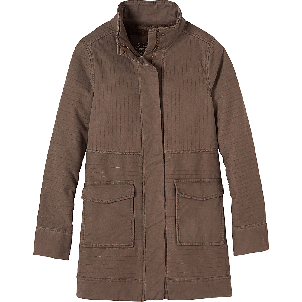 PrAna Trip Jacket L - Mud - PrAna Womens Apparel - Apparel & Footwear, Women's Apparel