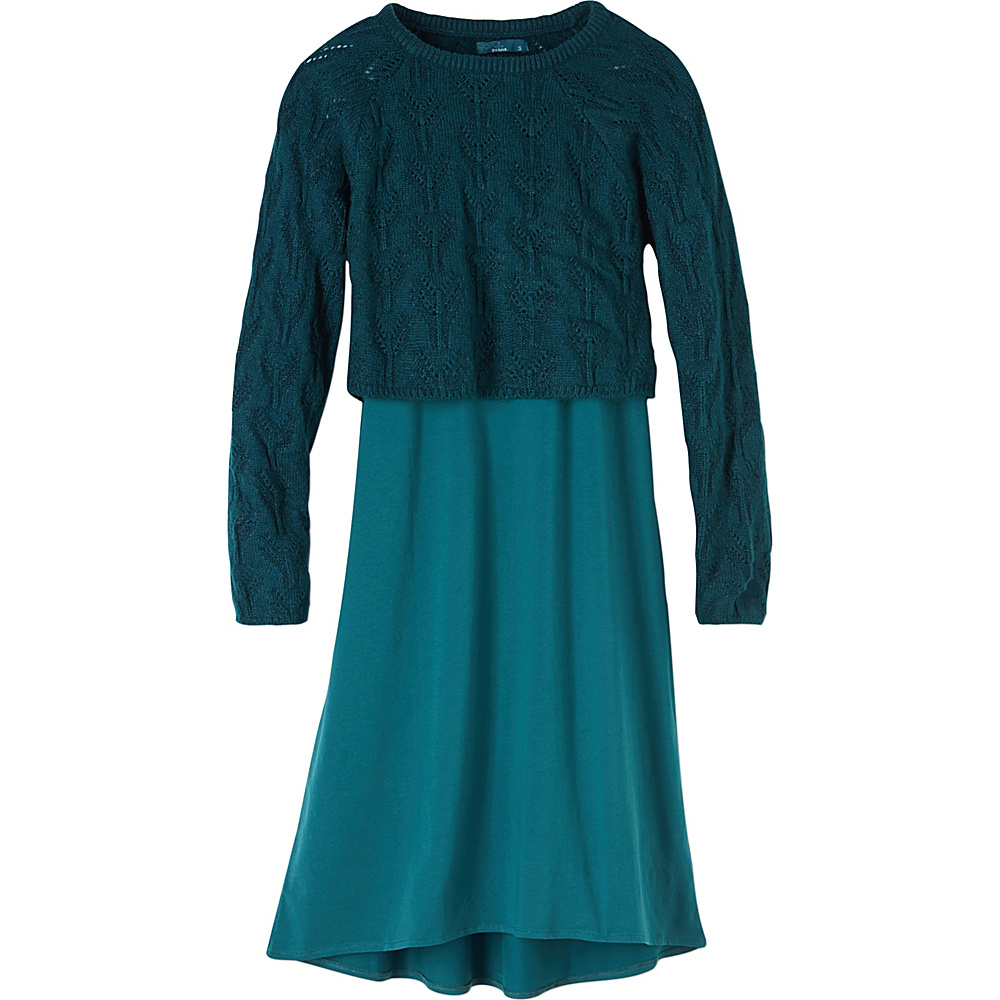 PrAna Everly Dress S - Deep Teal - PrAna Womens Apparel - Apparel & Footwear, Women's Apparel