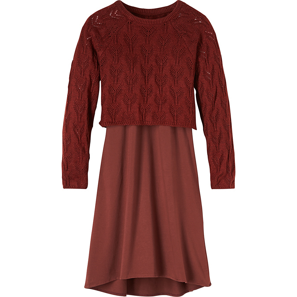 PrAna Everly Dress M - Raisin - PrAna Womens Apparel - Apparel & Footwear, Women's Apparel