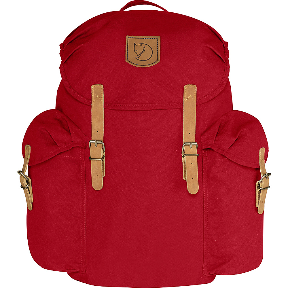 Fjallraven Ovik Backpack 20 Deep Red - Fjallraven Business & Laptop Backpacks - Backpacks, Business & Laptop Backpacks