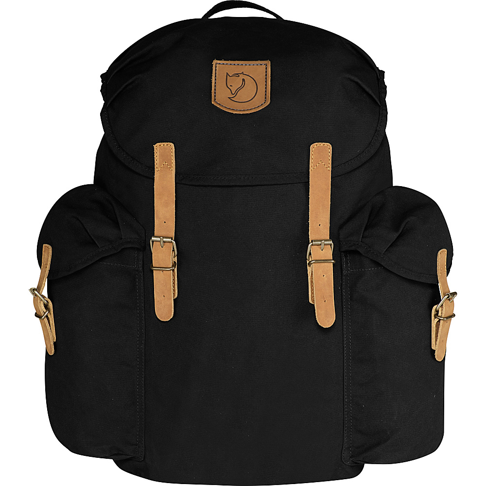 Fjallraven Ovik Backpack 20 Black - Fjallraven Business & Laptop Backpacks - Backpacks, Business & Laptop Backpacks