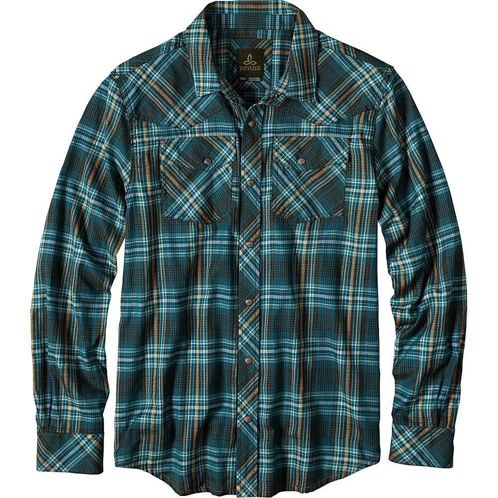 PrAna Holstad Shirt S - Cargo Green - PrAna Mens Apparel - Apparel & Footwear, Men's Apparel