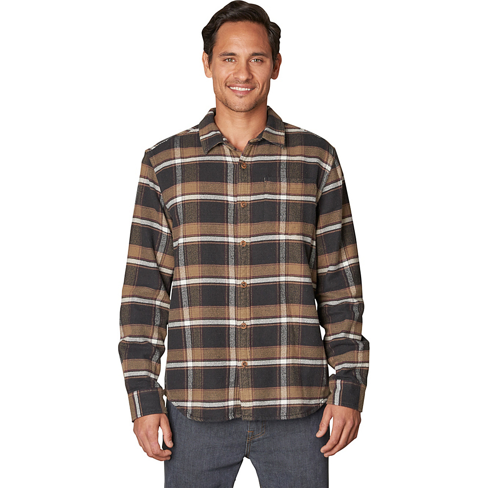 PrAna Channing Shirt M - Charcoal - PrAna Mens Apparel - Apparel & Footwear, Men's Apparel