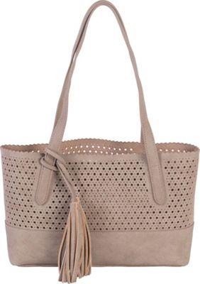 BUCO Small Metro Tote Taupe - BUCO Manmade Handbags