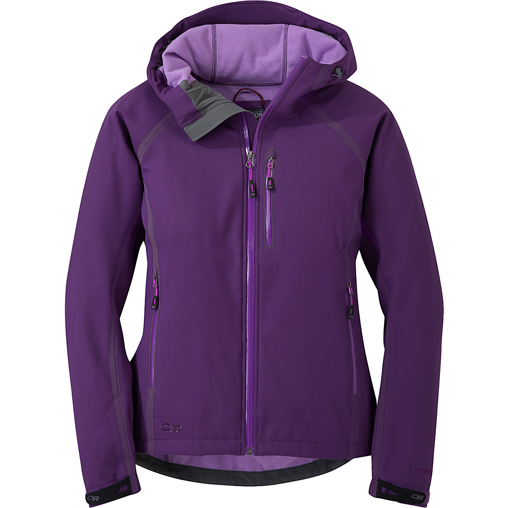 Outdoor Research Womens Mithril Jacket L - Elderberry - Outdoor Research Womens Apparel - Apparel & Footwear, Women's Apparel
