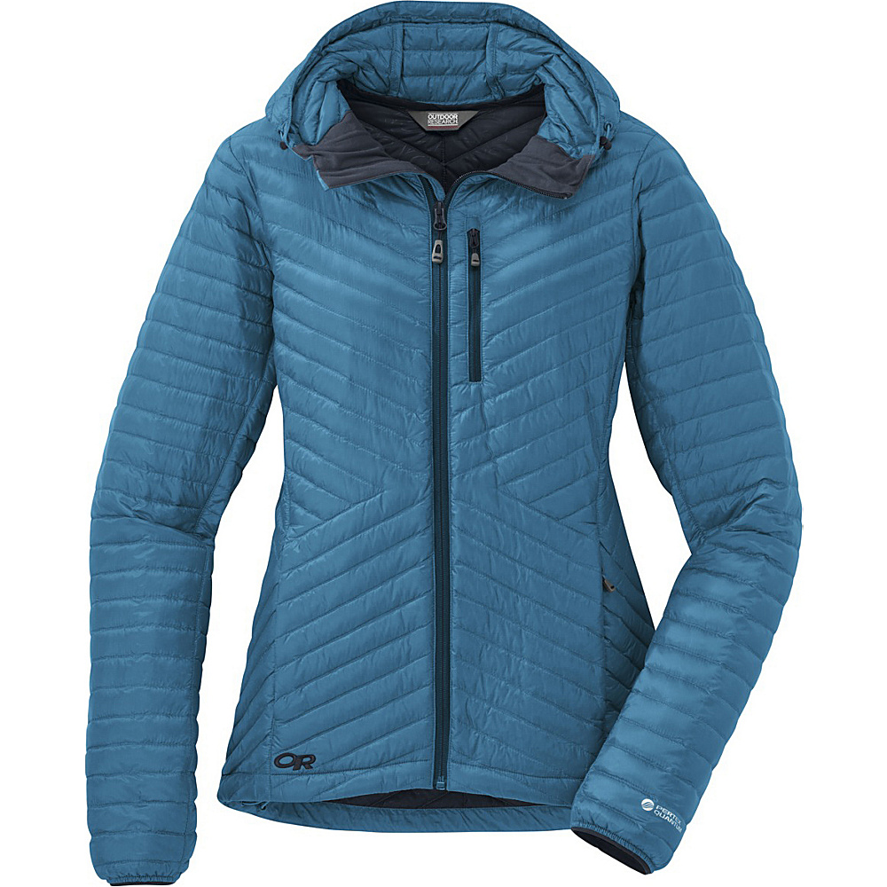 Outdoor Research Womens Verismo Hooded Jacket XS - Oasis - Outdoor Research Womens Apparel - Apparel & Footwear, Women's Apparel
