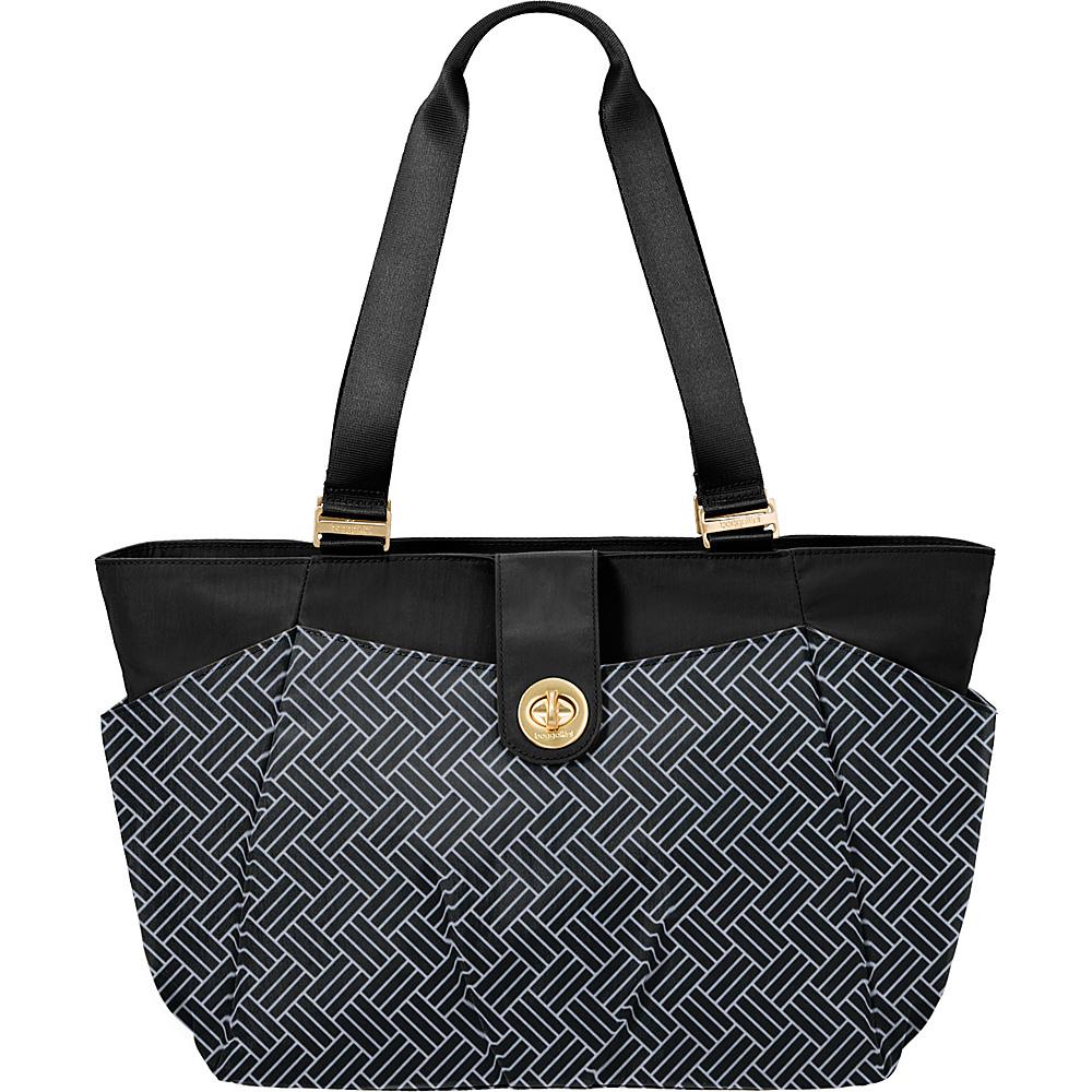 baggallini Norway Basket Weave Laptop Tote Basket Weave - baggallini Fabric Handbags - Handbags, Fabric Handbags