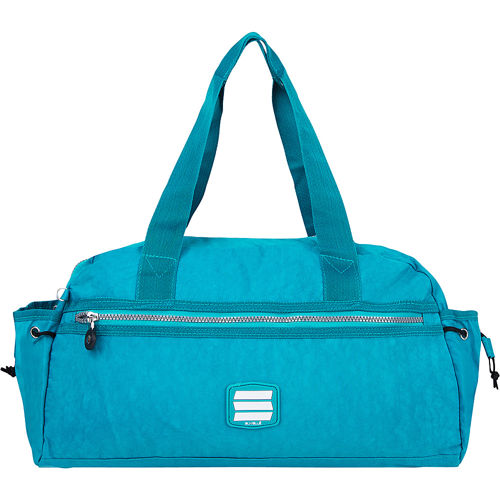 Suvelle Small Duffle Weekend Travel Bag Paradise Green Suvelle Travel Duffels