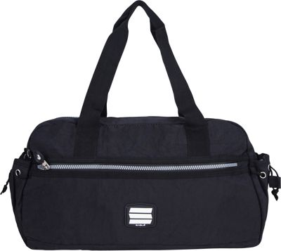 Suvelle Small Duffle Weekend Travel Bag Black - Suvelle Travel Duffels