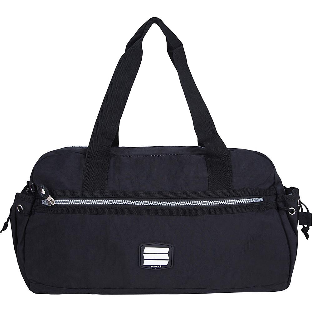 Suvelle Small Duffle Weekend Travel Bag Black Suvelle Travel Duffels
