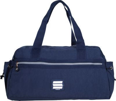 Suvelle Small Duffle Weekend Travel Bag Navy - Suvelle Travel Duffels