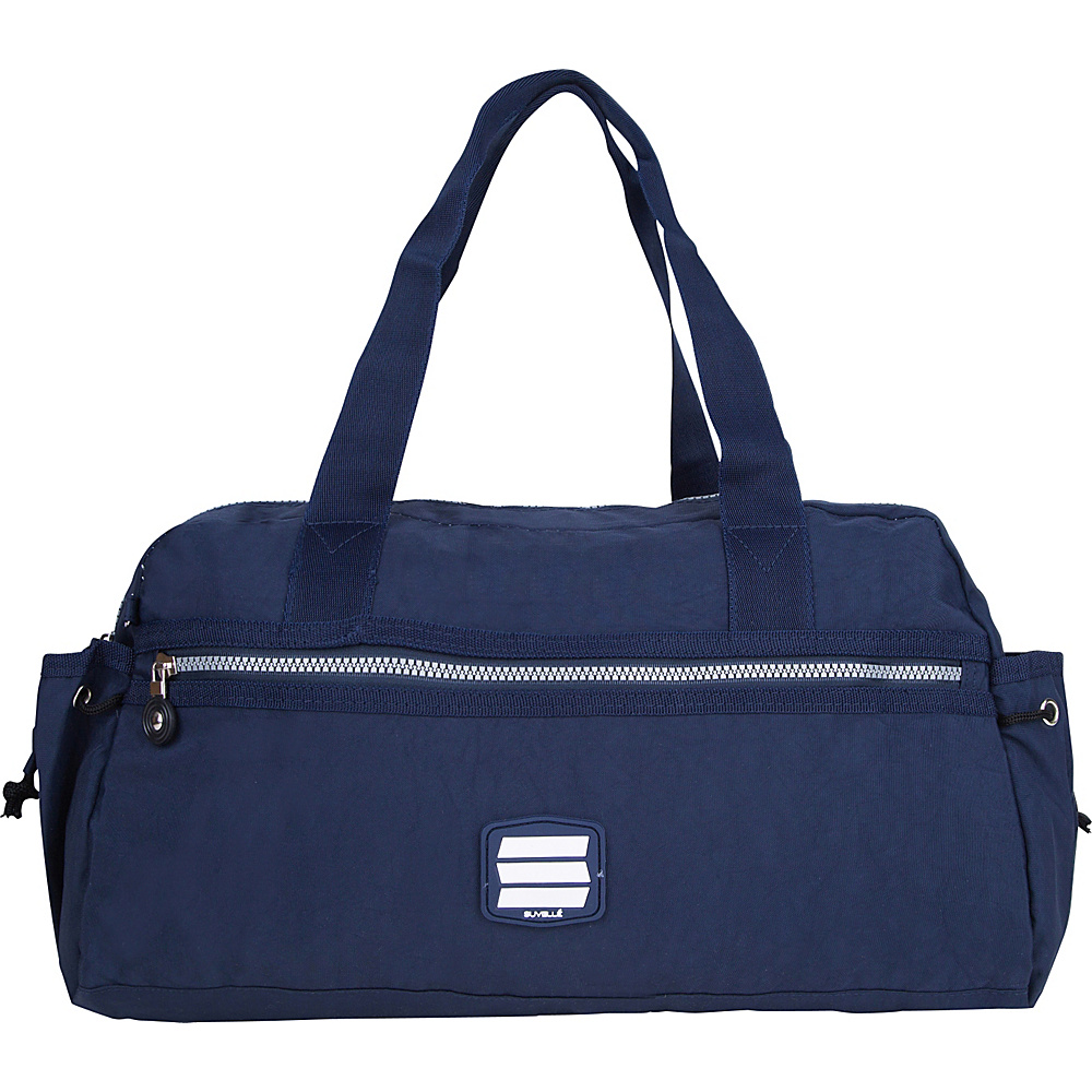 Suvelle Small Duffle Weekend Travel Bag Navy Suvelle Travel Duffels