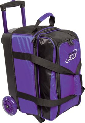 Columbia 300 Bags Icon Double Roller Purple - Columbia 300 Bags Bowling Bags
