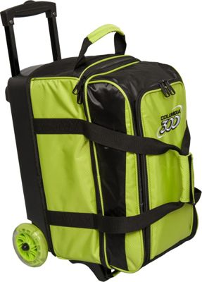 Columbia 300 Bags Icon Double Roller Lime - Columbia 300 Bags Bowling Bags
