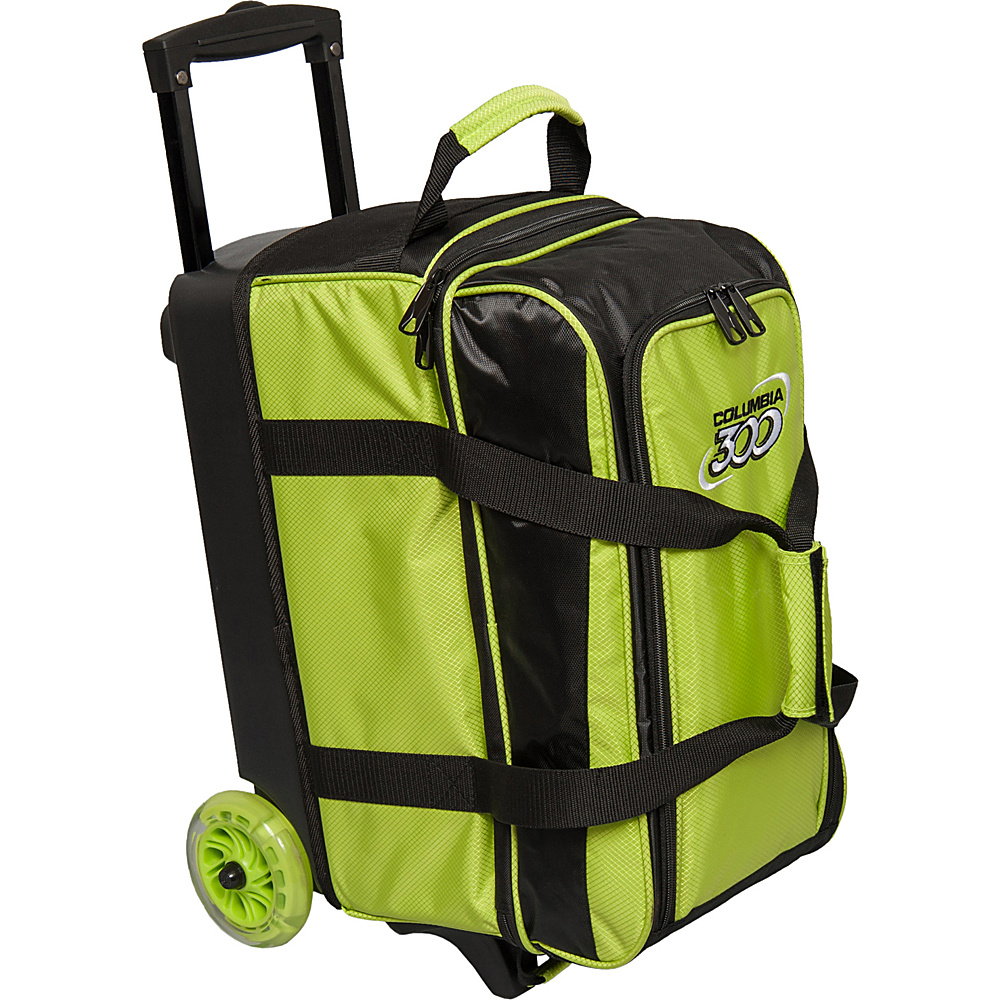 Columbia 300 Bags Icon Double Roller Lime Columbia 300 Bags Bowling Bags