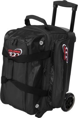 Columbia 300 Bags Icon Double Roller Black - Columbia 300 Bags Bowling Bags