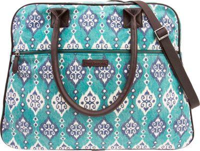 Bella Taylor Weekender Satchel Lanai Blue - Bella Taylor Fabric Handbags