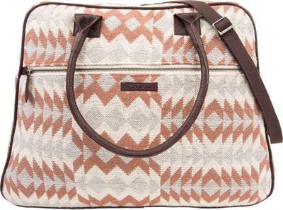 Bella Taylor Weekender Satchel Romy White - Bella Taylor Fabric Handbags