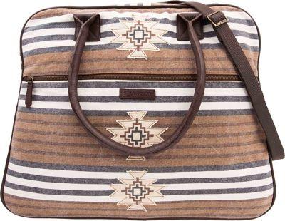 Bella Taylor Weekender Satchel Ryn Brown - Bella Taylor Fabric Handbags