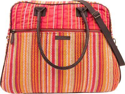 Bella Taylor Weekender Satchel Tabitha Red - Bella Taylor Fabric Handbags