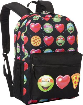 Teenage Mutant Ninja Turtles EmojiNinja Backpack Green - Teenage Mutant Ninja Turtles Everyday Backpacks