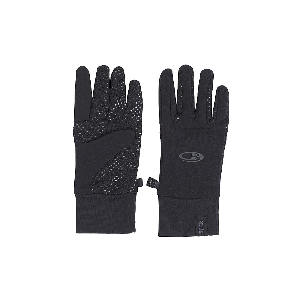 Icebreaker Adult Sierra Gloves XS - Black - Icebreaker Hats/Gloves/Scarves - Fashion Accessories, Hats/Gloves/Scarves