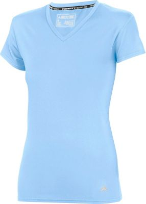 Arctic Cool Womens V-Neck Instant Cooling Shirt XL - Blizzard Blue - Arctic Cool Women's Apparel
