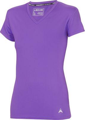Arctic Cool Womens V-Neck Instant Cooling Shirt L - Purple - Arctic Cool Women's Apparel