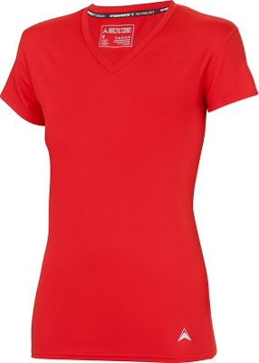 Arctic Cool Womens V-Neck Instant Cooling Shirt M - Infra Red - Arctic Cool Women's Apparel