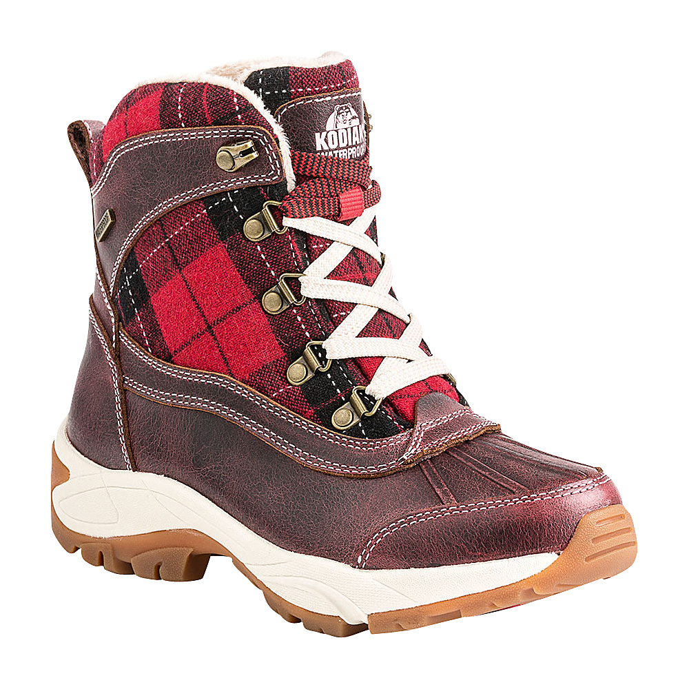 Kodiak Rochelle Boot 9 M Regular Medium Red Kodiak Women s Footwear
