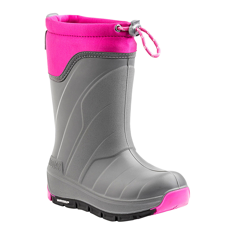 Kodiak Klondike Boot 4 (US Kids) - M (Regular/Medium) - Grey/Pink - Kodiak Womens Footwear - Apparel & Footwear, Women's Footwear