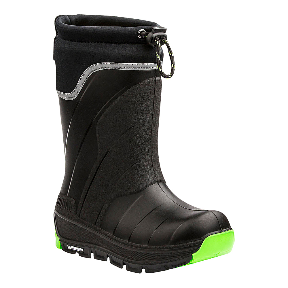 Kodiak Klondike Boot 13 (US Kids) - M (Regular/Medium) - Black/Green - Kodiak Womens Footwear - Apparel & Footwear, Women's Footwear