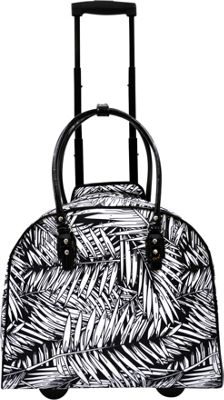 Tara's Travelers Palm Carry-On Trolley Palm Black - Tara's Travelers Softside Carry-On