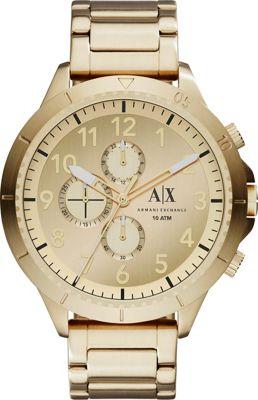 A/X Armani Exchange Romulous Watch Gold - A/X Armani Exchange Watches