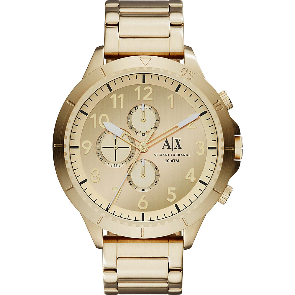 A X Armani Exchange Romulous Watch Gold A X Armani Exchange Watches