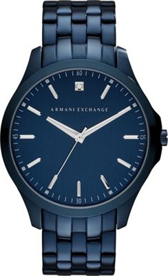 A/X Armani Exchange Smart IP Bracelet Watch Blue - A/X Armani Exchange Watches