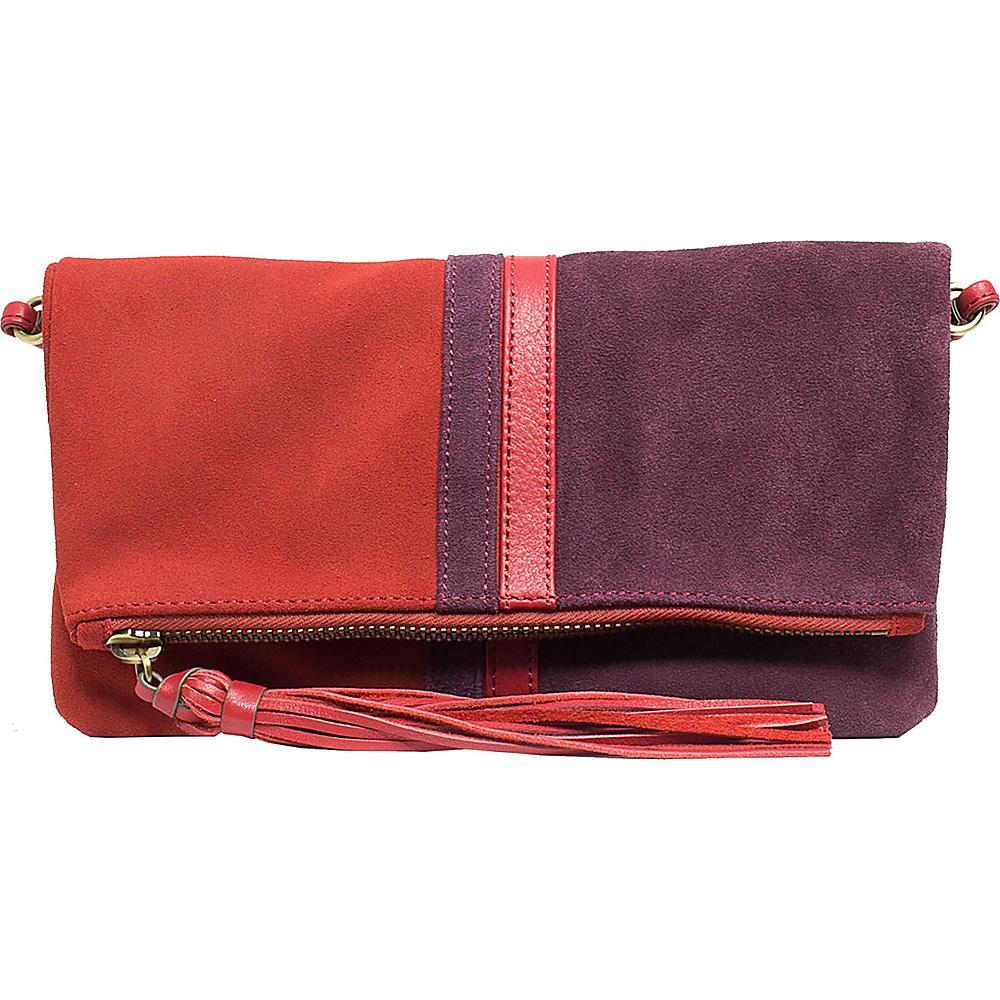 Sanctuary Handbags Retro Fashion Clutch Red Curry Wineberry Sanctuary Handbags Designer Handbags