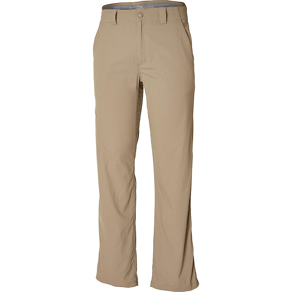 Royal Robbins Everyday Traveler Pant 38 - 34in - Burro - Royal Robbins Mens Apparel - Apparel & Footwear, Men's Apparel