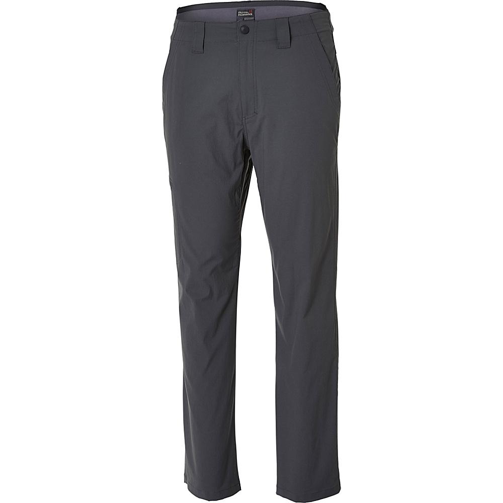 Royal Robbins Everyday Traveler Pant 30 - 30in - Charcoal - Royal Robbins Mens Apparel - Apparel & Footwear, Men's Apparel