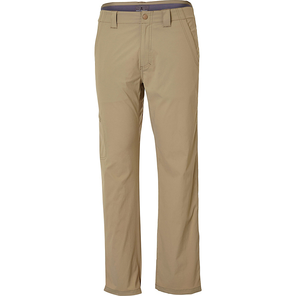 Royal Robbins Everyday Traveler Pant 44 - 32in - Khaki - Royal Robbins Mens Apparel - Apparel & Footwear, Men's Apparel