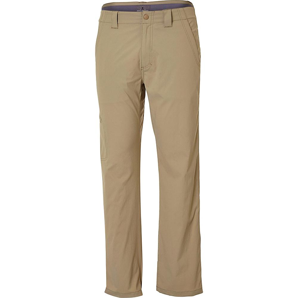 Royal Robbins Everyday Traveler Pant 36 - 32in - Khaki - Royal Robbins Mens Apparel - Apparel & Footwear, Men's Apparel