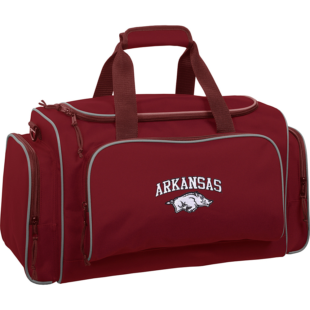 Wally Bags Arkansas Razorbacks 21 Duffel Red Wally Bags Travel Duffels