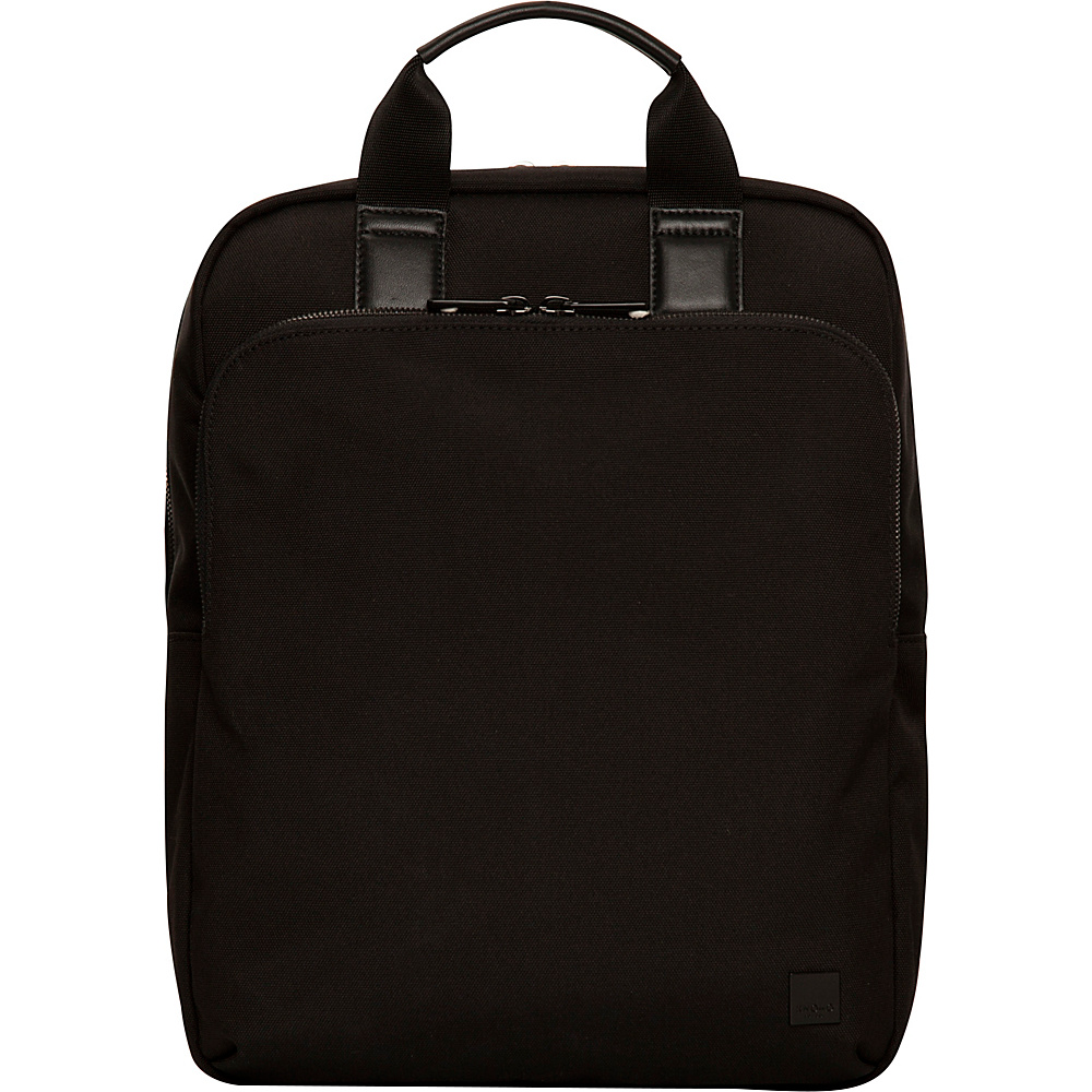 KNOMO London Brompton James Convertible Backpack Char KNOMO London Business Laptop Backpacks