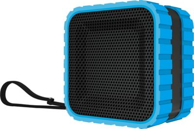 Coleman SoundTrail Cube Water Resistant  Bluetooth Speaker Blue - Coleman Headphones & Speakers