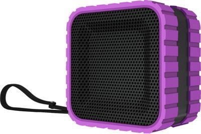 Coleman SoundTrail Cube Water Resistant  Bluetooth Speaker Purple - Coleman Headphones & Speakers