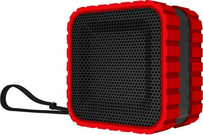 Coleman SoundTrail Cube Water Resistant  Bluetooth Speaker Red - Coleman Headphones & Speakers